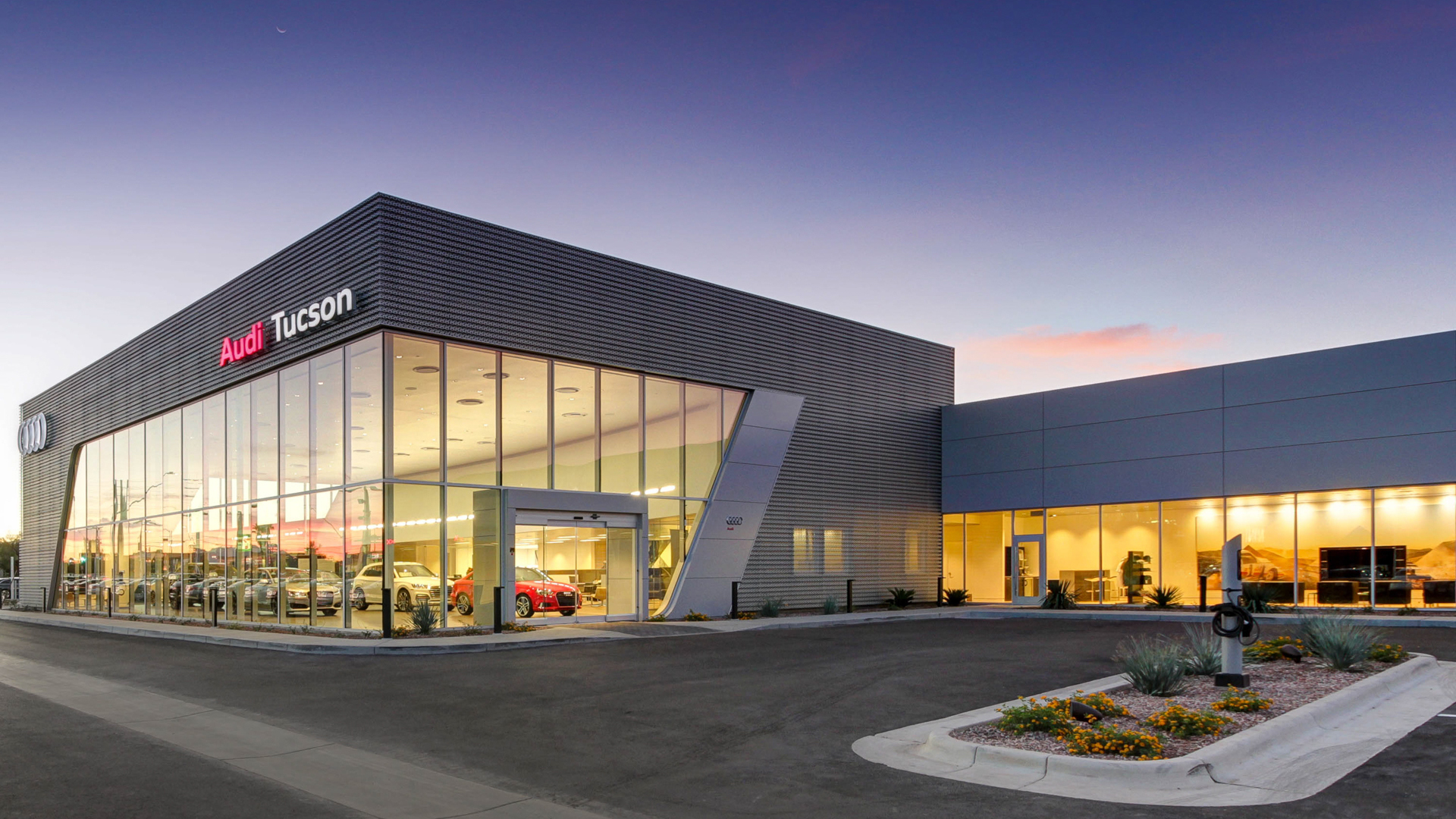 COMMERCIAL REAL ESTATE PHOTOGRAPHY – AUDI TUCSON