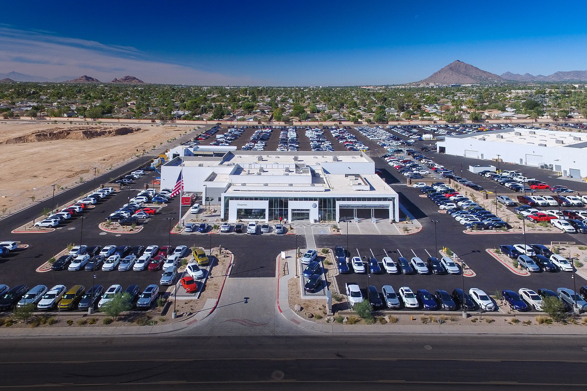 COMMERCIAL REAL ESTATE PHOTOGRAPHY – VOLKSWAGEN SCOTTSDALE
